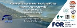 Free Market Road Show 2015 | 8.05.2015